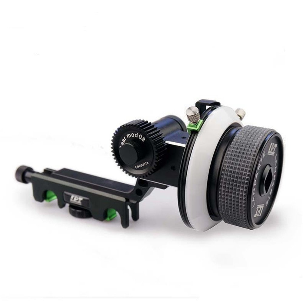 Lanparte FF-02 Follow Focus with A/B Hard Stop for DSLR Rig