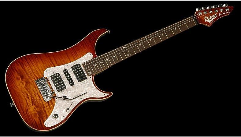 GUITARRA VIGIER EXCALIBUR SPC RW VE6CVSP1 AM AMBAR: Amazon.es: Instrumentos musicales
