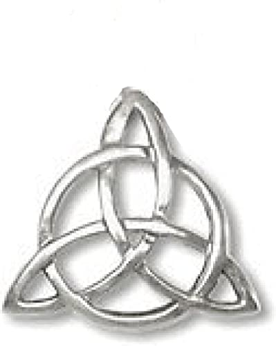Amazon Triquetra Pendant Charmed Symbol Blessed Be On The Back