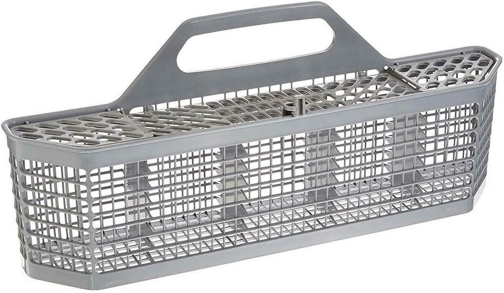Studyset Dishwasher Basket,Dishwasher Basket Storage Cleaning Tool Dishwasher Replacement Parts Kitchen Facility Gray