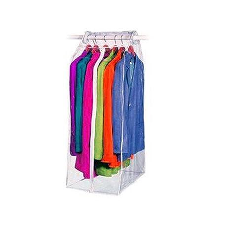 5e9a73205db0 HUJI Clear Vinyl Frameless Garment Suit Coat Gown Dress Storage Bag - 15