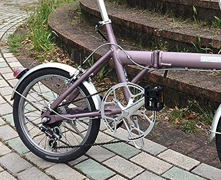 LitePro bielas (platos 56T 130 BCD sola velocidad manivela juego con funda protectora para de velocidad única pista bicicleta plegable bicicleta de piñón ...