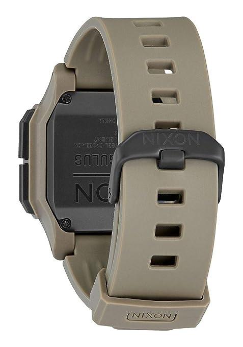 Nixon Reloj Unisex Adultos de Digital con Correa en Policarbonato A1180-2711-00: Amazon.es: Relojes