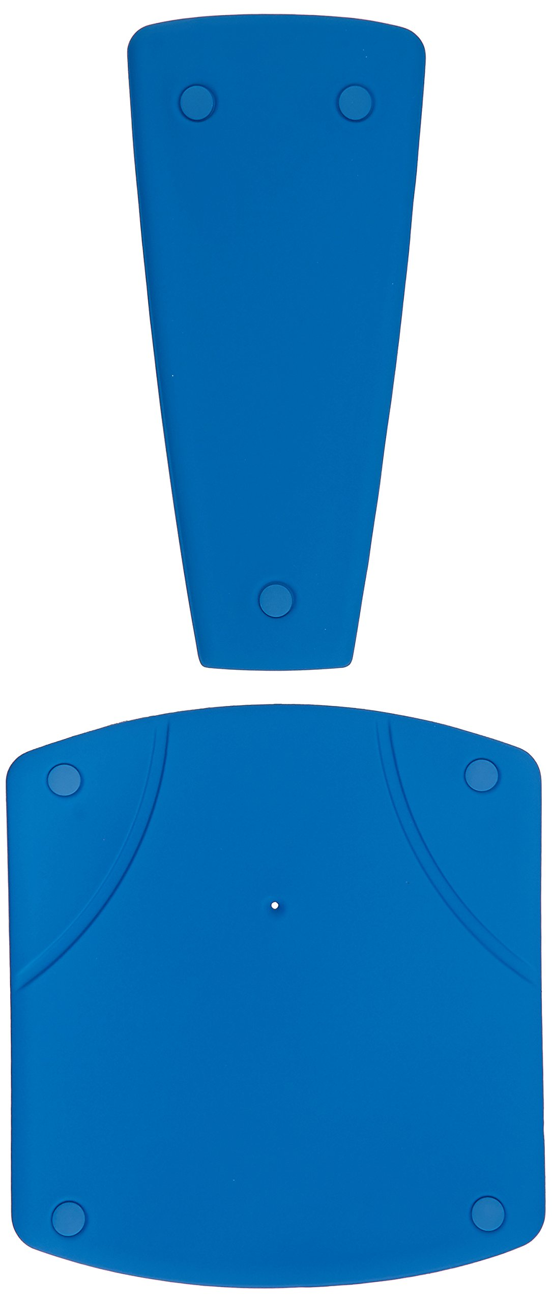 Bathmaster Deltis Cover, Blue Standard Cover Fits Deltis Bathlift, Comfortable 1/4'' Foam Seat and Backrest Cover Protects Bath Lift, Easy to Use Cover Snaps Into Place, Washable