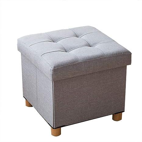 Superb Amazon Com Yun Hai Ottoman Storage Stool Foot Stool Folding Frankydiablos Diy Chair Ideas Frankydiabloscom
