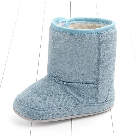 Botas De Algodón De Gamuza para Bebés, Zapatos para Niños Recién ...