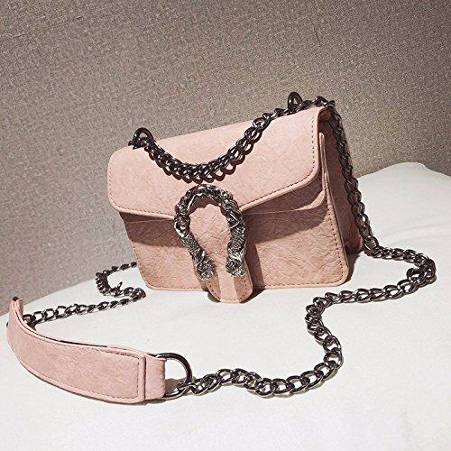 sexy donne piccola borsa incendio chic borsa ZHANGJIA spalla catena brown borsa ins super borsa gray unica nwgYX0qf