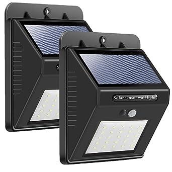 100% QualitäT Solarbeleuchtung Außenbeleuchtung Gartenleuchte Mit Bewegungsmelder Mit 20 Leds SchöN In Farbe Beleuchtung