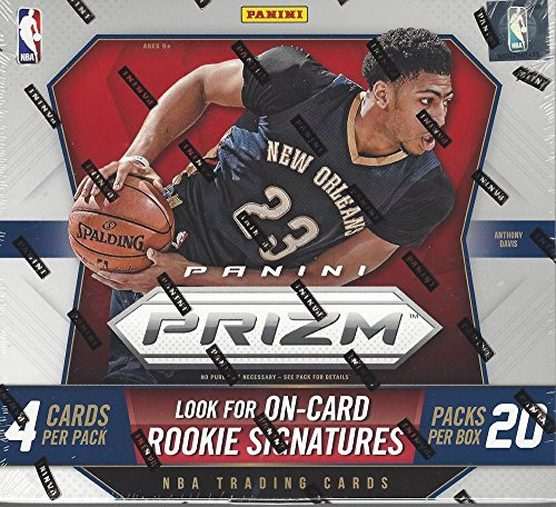 2015-16 Panini Prizm Basketball Hobby Box (20 Packs of 4 cards, 1 (Basketball Factory Sealed Hobby Box)