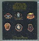 Disney Pin Trading Star Wars The Force Awakens Set of 6
