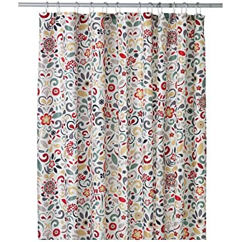 Amazon.com: Ikea Akerkulla Shower Curtain, Multicolor: Home & Kitchen