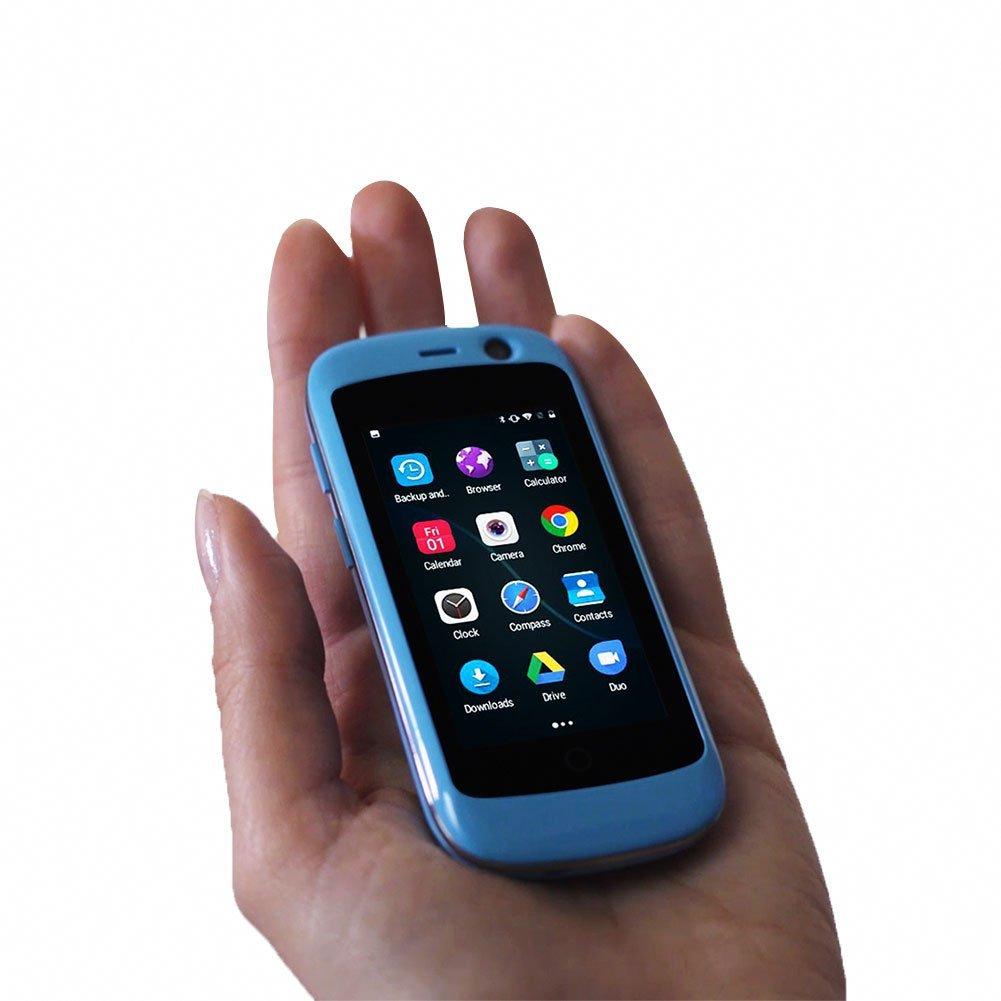 Unihertz Jelly Pro - El Teléfono Inteligente 4G Más Pequeño del Mundo, Android 7.0 Nougat Smartphone Desbloqueado con 2GB De RAM Y 16 GB De ROM, ...