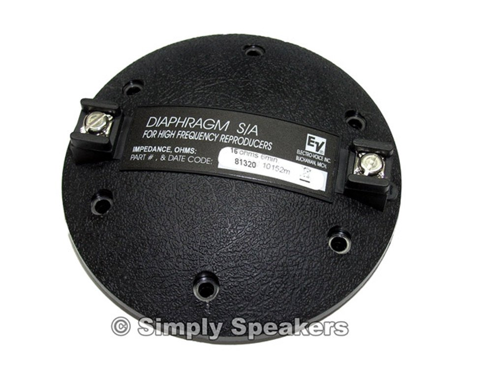 Electro Voice Factory DH1A-16 ,N/DYM-1-16 16 ohm Speaker Replacement Horn Diaphragm 81320XX