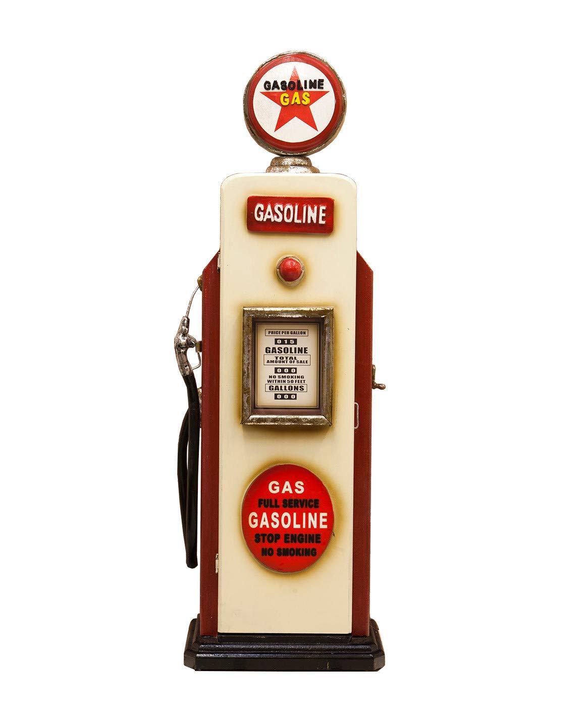 秋月貿易 CDDVDラック GASOLINE W24×D19.5×H84cm ガスポンプ CDホルダー 205MS1624 B00CJ3PFVK GASOLINE