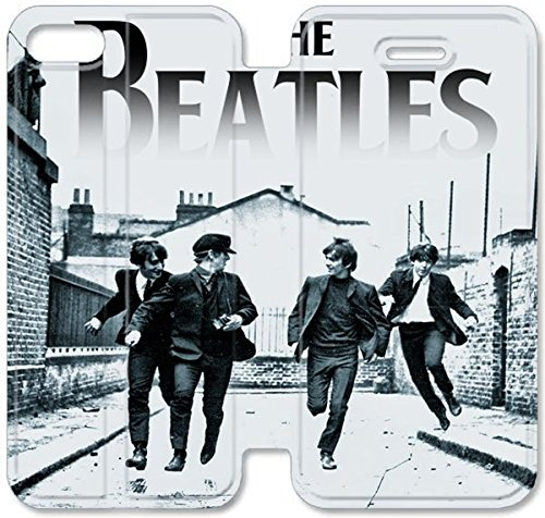 Coque iPhone 6 6s 4,7 pouces Coque Cuir, Klreng Walatina® 6 6s PU Cuir de portefeuille Coque Design By The Beatles X8O6Gp