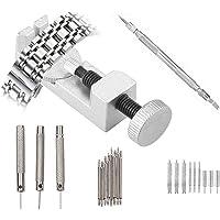 Watch Band strumento di rimozione kit–20in 1orologio da polso Link pin Remover Tools Spring Bar Tool kit di riparazione per orologiai