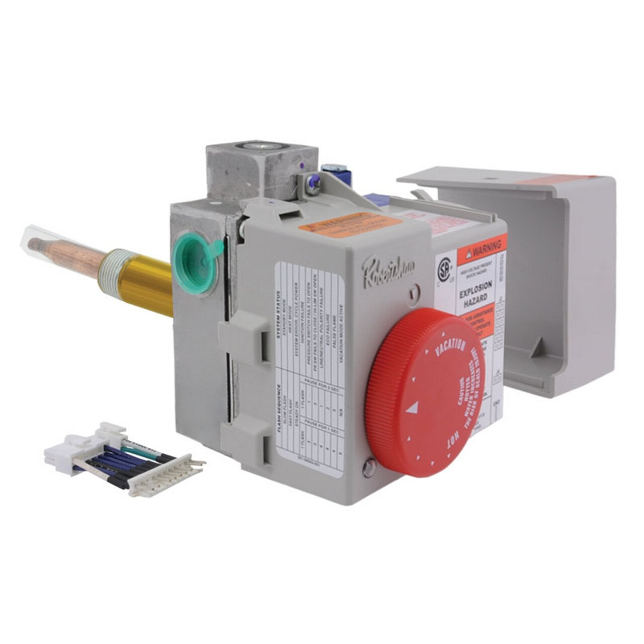 rheem gas heaters. rheem sp20161a gas control thermostat kit, natural - water heater replacement parts amazon.com heaters