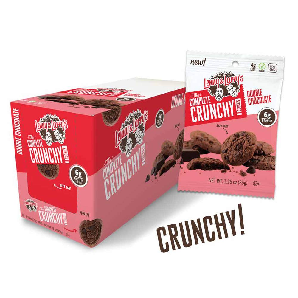 Lenny & Larry's - The Complete Crunchy Cookies® [1.25oz - 12ct Box] (Double Chocolate)