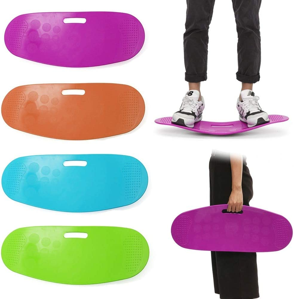 ABS Twisting Fitness Balance Board Exercise Workout Yoga Twister Training Abdominal Muscles Legs Balance Pad Prancha Fitness