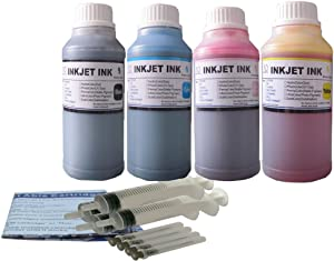 ND Brand Dinsink: 4X10OZ refill ink kit for HP 45 HP 78 ink cartridge:Deskjet 920 920C 920Cvr 930 930C 932 932C 935 935C 940 940C 940Cvr 950 950C 952 952C 960 960Cse 960Cxi 970 970C 970Cse 970Cxi 990C 990cm 990Cse 990cxi 995 995C 995ck 1220c-ps 1220cse 1220cxi 6122 6127 9300...The item with syringe and detail refill instruction.The item with ND Logo!