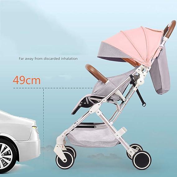 WYX-Stroller Kid Pram High Landscape Cochecito para Bebés Se Puede ...