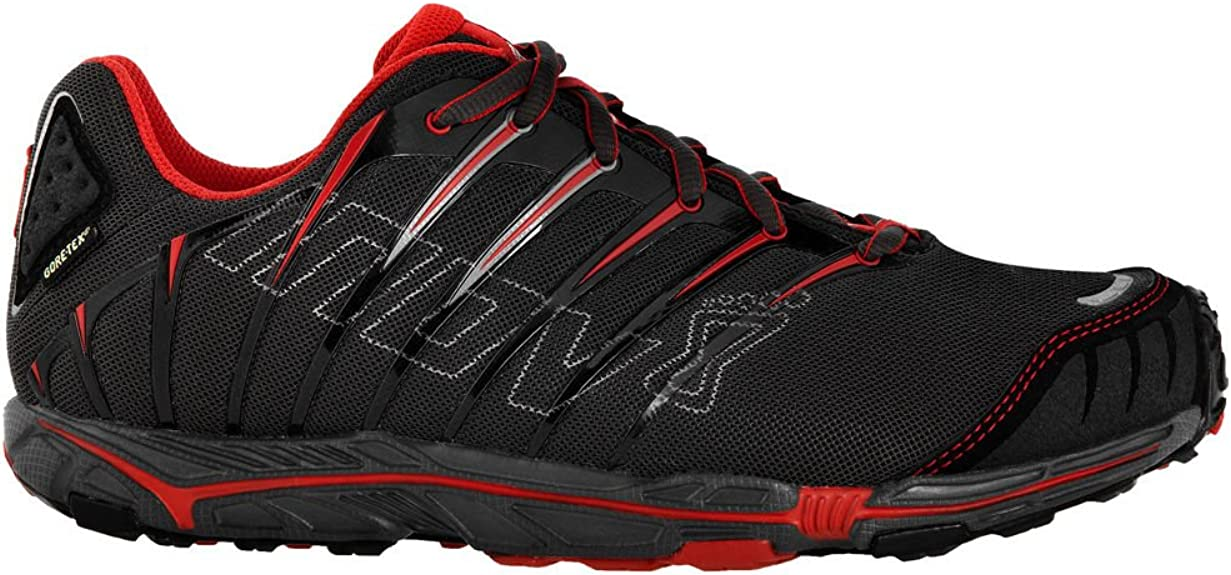 INOV8 Terrafly 313 GTX Zapatilla de Trail Running Caballero, Negro/Rojo, 47: Amazon.es: Zapatos y complementos