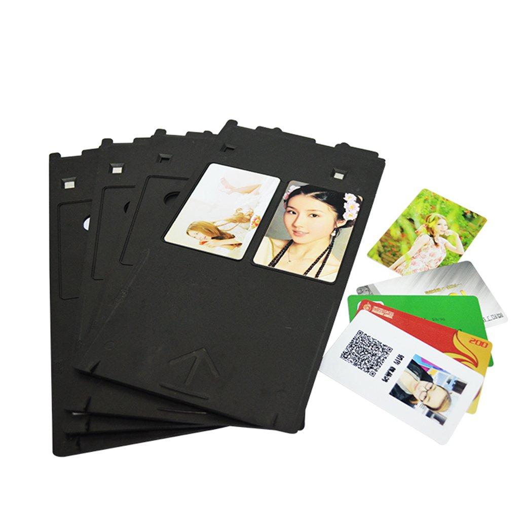 Bandejas de pl/ástico impresora de inyecci/ón para impresoras de inyecci/ón de tinta Canon ID Card impresi/ón accesorios