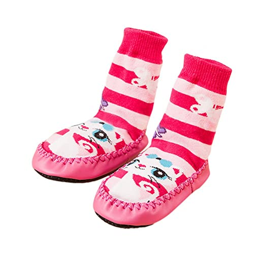 Deylaying Baby Infants Cute Gato Niño Calcetines Antideslizantes Calcetines Slipper Calcetines: Amazon.es: Zapatos y complementos