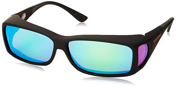 best polarized sunglass lenses  Amazon.com: Cocoons Wide Line ML Rectangular Polarized Sunglasses ...