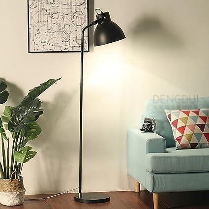 Lámpara de pie Hierro Hierro 39 * 165cm Sala de Estar ...