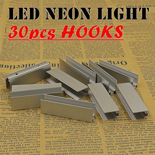 30pcs LED Neon Light hooks