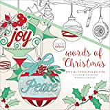 Kaisercolour Perfect Bound Coloring Book 9.75''X9.75''-Words Of Christmas