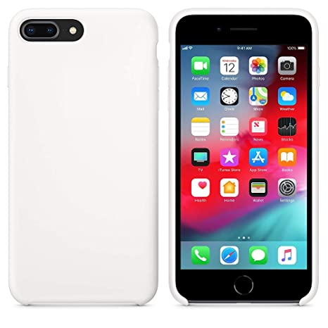 539c6f819d Mcart Premium Silicone Soft Back Cover Case for Apple: Amazon.in:  Electronics