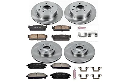 Power Stop KOE4714 Autospecialty By Power Stop 1-Click Daily Driver Brake Kits