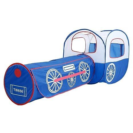 Clevoers - Tienda de campaña Plegable para niños con túnel para niños, para Jugar al