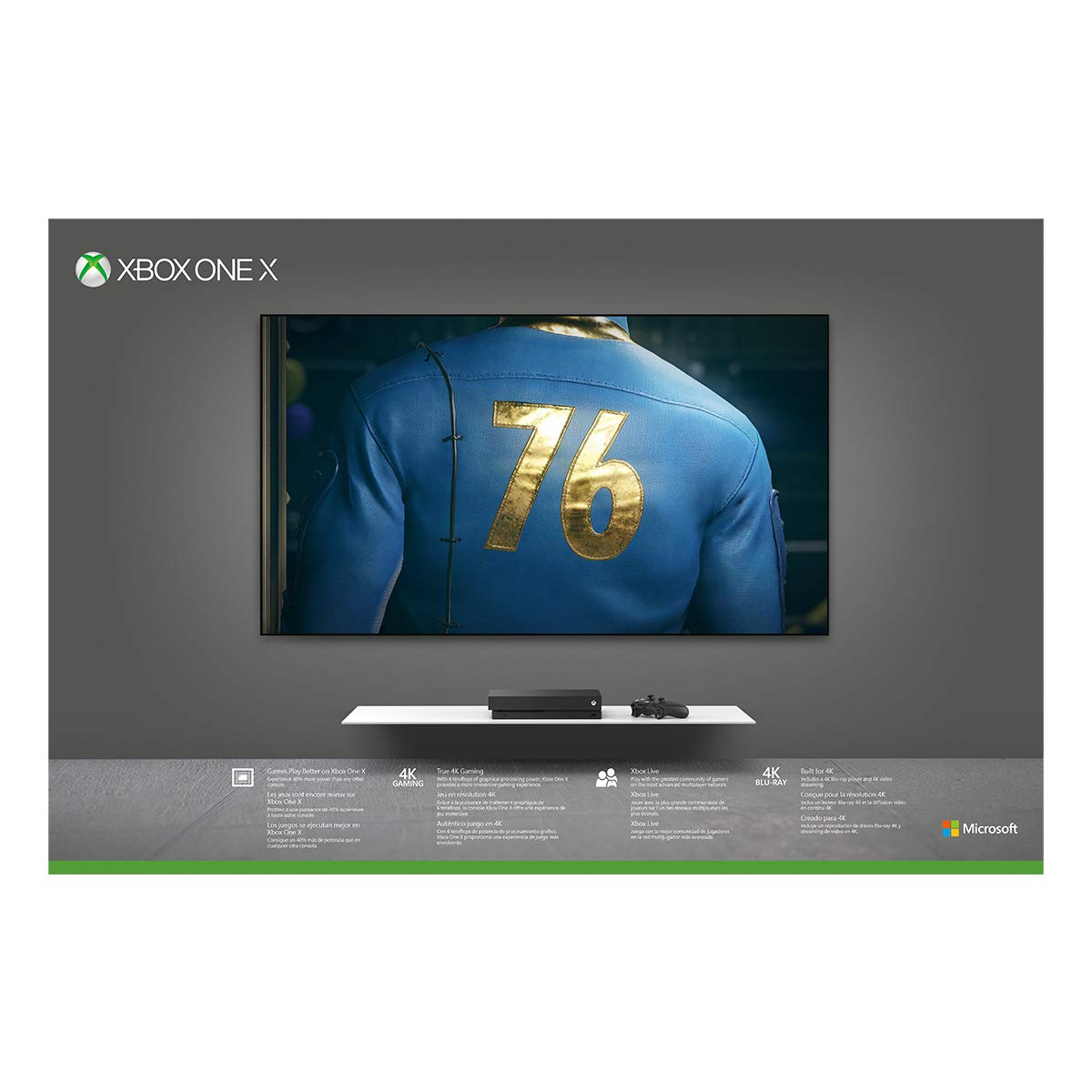 Xbox One X 1TB Console - Fallout 76 Bundle (Discontinued) by Microsoft (Image #8)