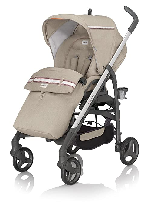 INGLESINA 37 F6jfe - Carro, ajustable bebé, color beige: Amazon.es: Bebé
