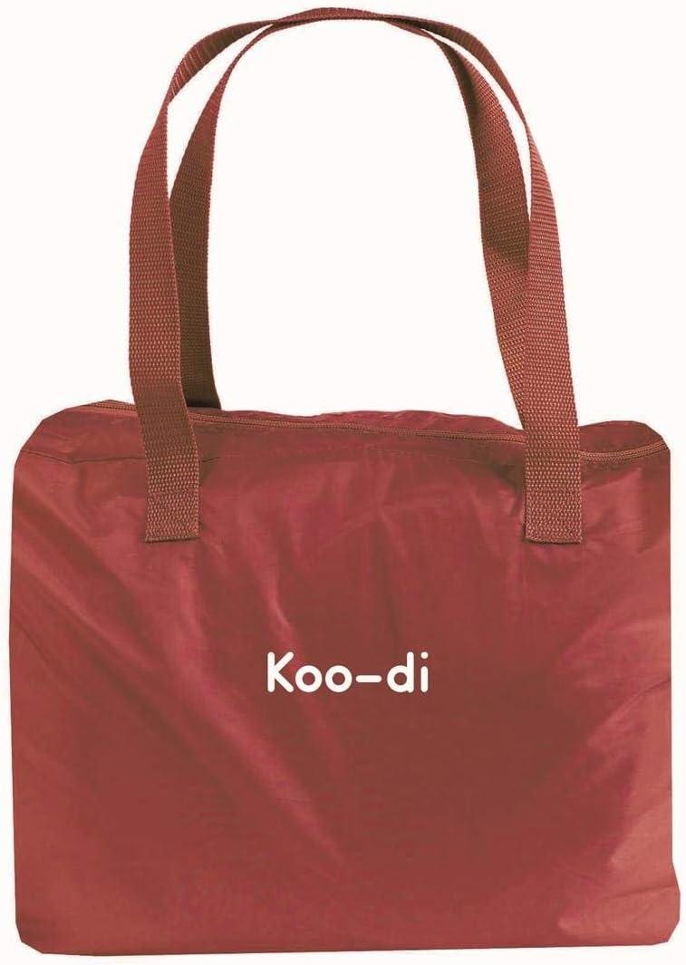 Koo-Di Couffin de Voyage Avec Moustiquaire Berceau Confort Sommeil Violet /à Pois