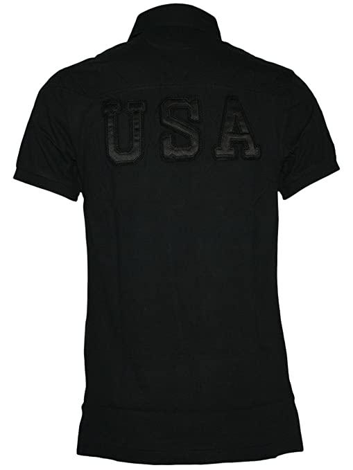 RALPH LAUREN Diseñador Hombre Polo Shirt Camisetas - USA PONY -: Amazon.es: Ropa y accesorios