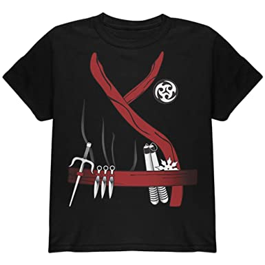 Amazon.com: Old Glory Halloween Red Clan Ninja Assassin ...