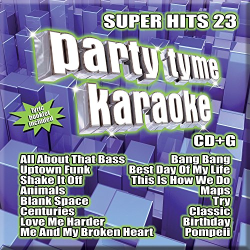 Party Tyme Karaoke: Super Hits 23 (Best Karaoke Cds For Kids)