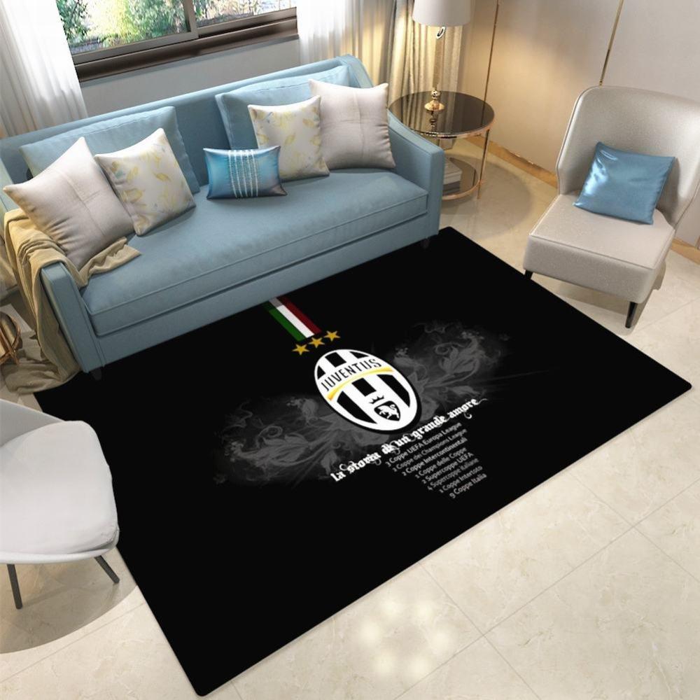 WEII Fußball Club Teppich Home Persönlichkeit Kreative Fußball Anti-Rutsch-Matte