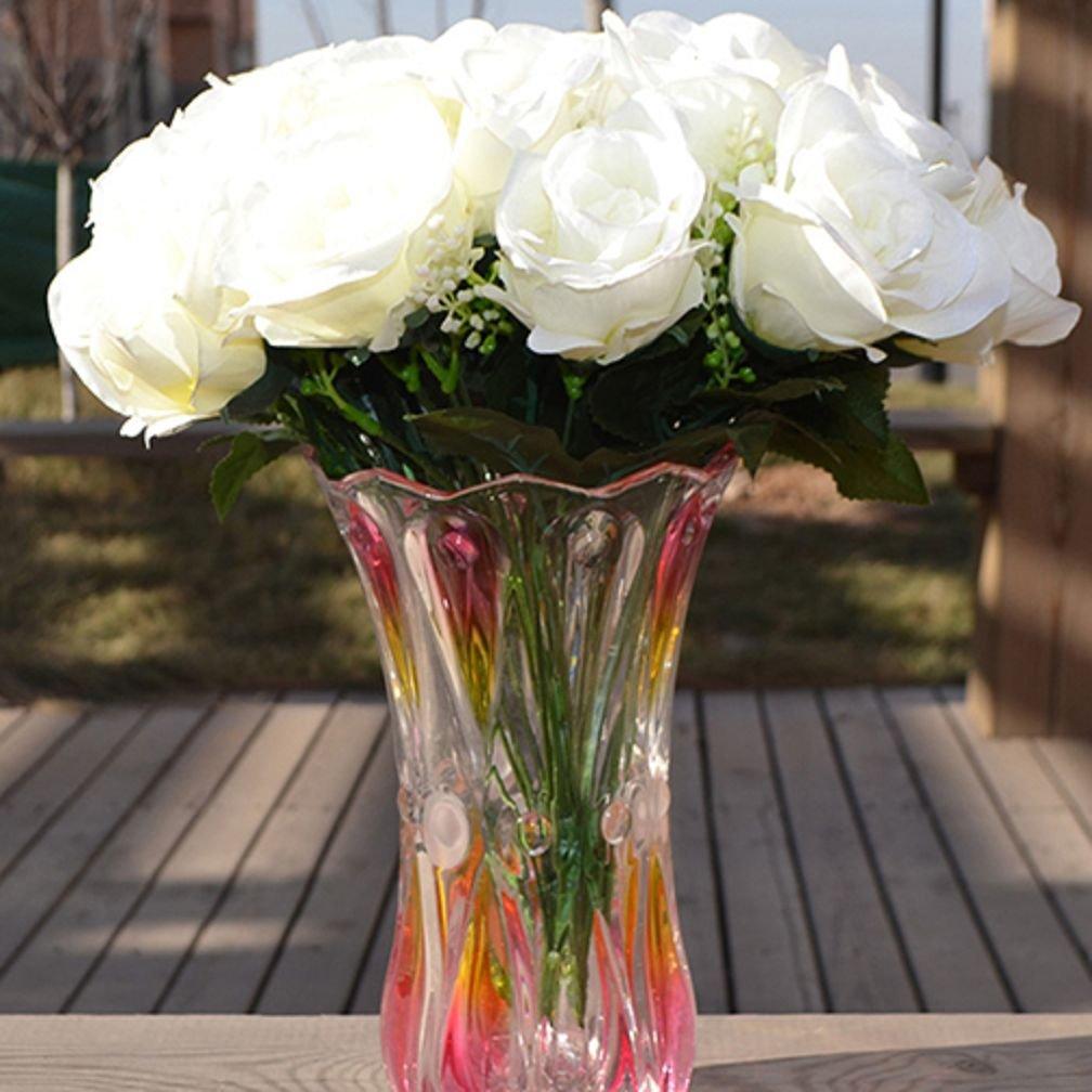 Beautiful Artificial Rose In Vases Amazon