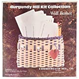 Commonwealth Basket 12800-12840 Burgundy Hill Basket Kits, Wall Basket, 9-Inch by, 7-Inch