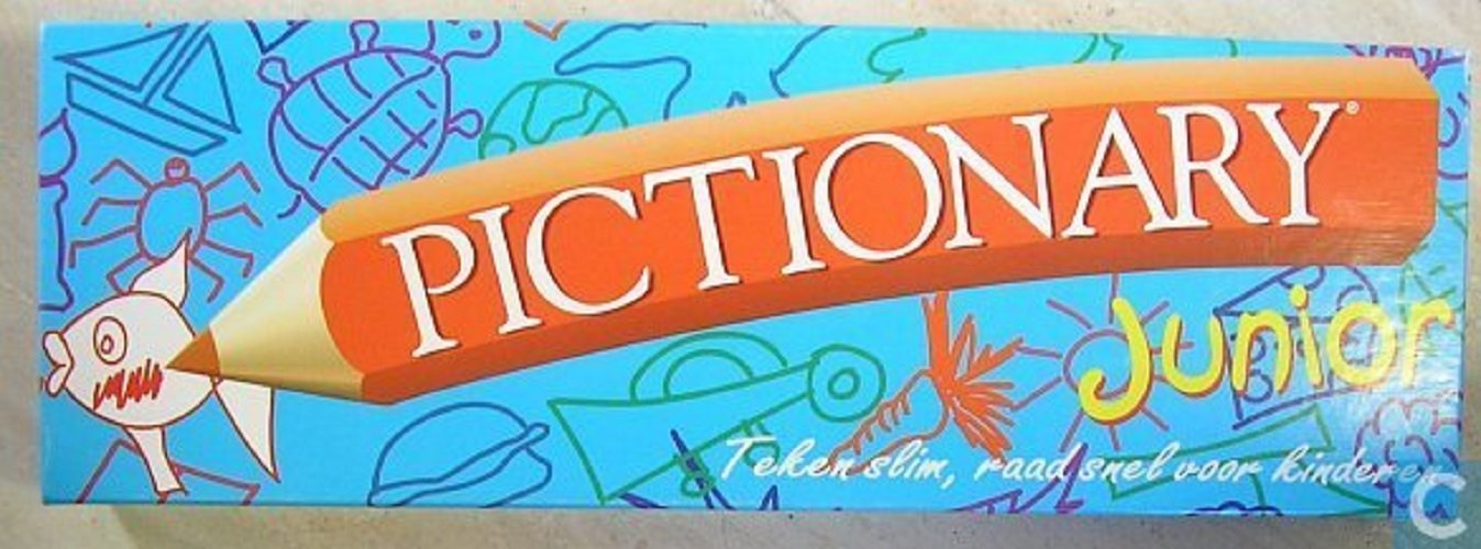 Pictionary Junior; the Game of Quick Draw (1999 Vintage) by Hasbro B00269WIR6 Brettspiele Mangelware | Elegant