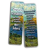 Spanish Bible Inspirational Bookmarks Cards Be