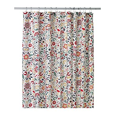Ikea Akerkulla Shower Curtain, Multicolor