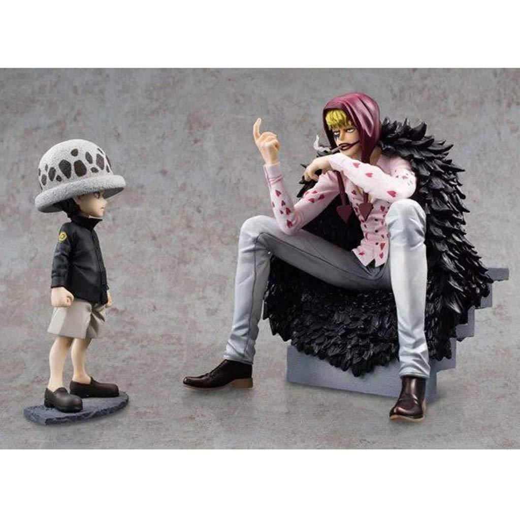 venta directa de fábrica ZEQUAN One Piece Infancia Luo Luo Luo Escena clásica PVC Muñeca Muñeca Modelo de Anime Muñeca Estatua Decoración  punto de venta
