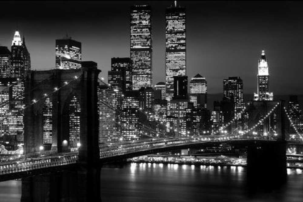 Amazon.de: empireposter - New York - Brooklyn Bridge Version 2 ...