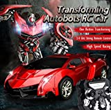 SainSmart Jr. Transforming Autobots Anxiety Relief RC Cars High Speed Robot Car Toy